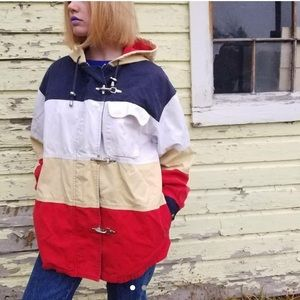 Vintage stripped Express jacket